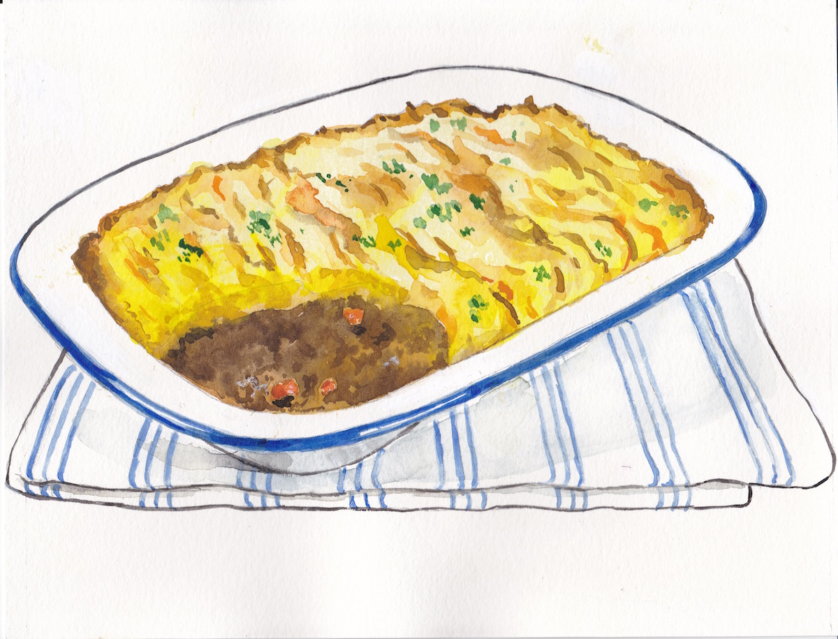 Shepherd's Pie is always made with lamb. You can use beef, but then you have made a cottage pie.